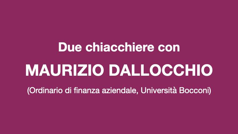 Due chiacchiere con Maurizio Dallocchio