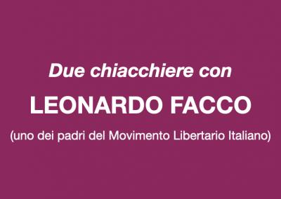 Due chiacchiere con Leonardo Facco