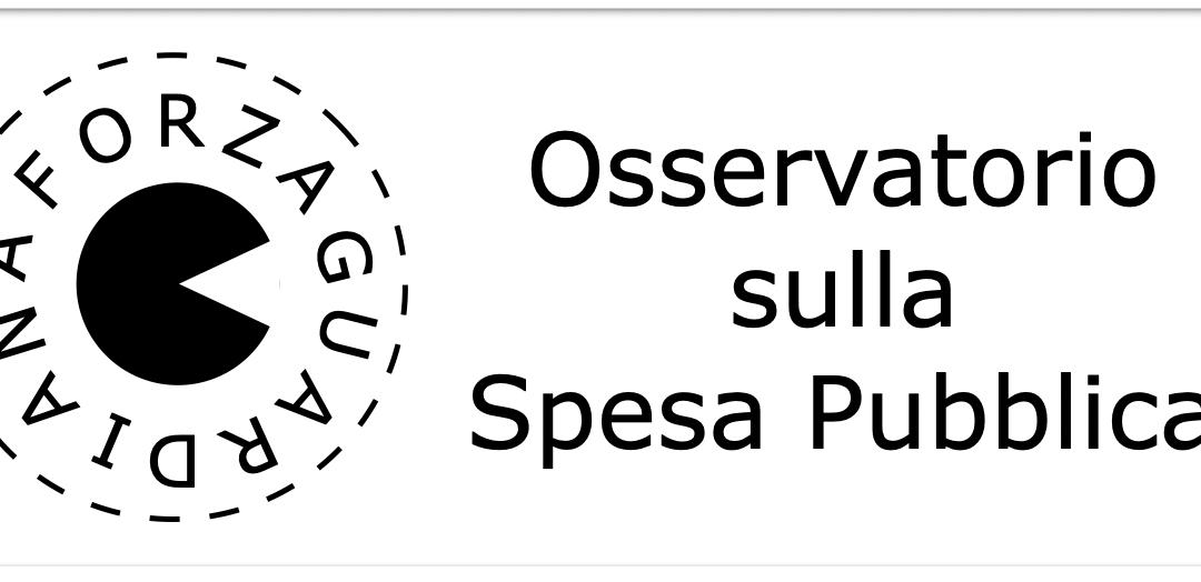 Nasce l'osservatorio sulla Spesa Pubblica di Forza Guardiana
