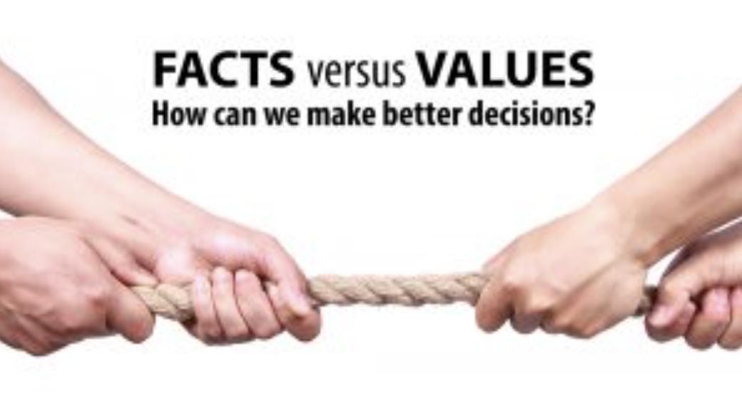Fatti e valori: il relativismo insidioso