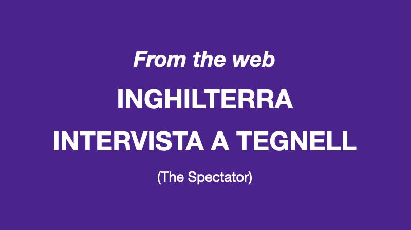 Speciale Covid – Intervista a Tegnell