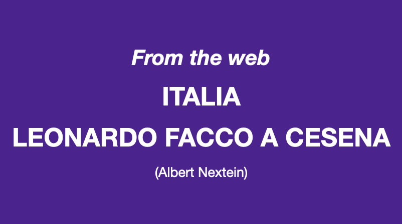 Leonardo Facco a Cesena