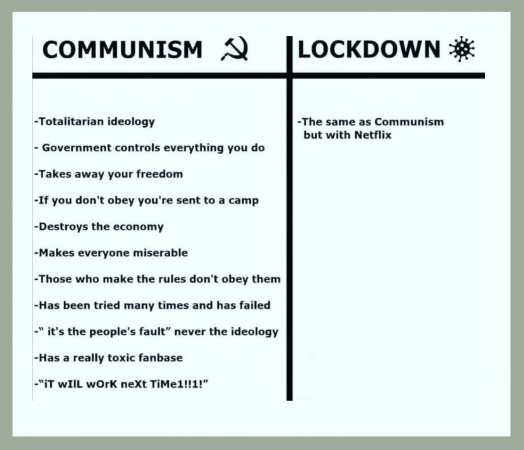 Communism vs Lockdown